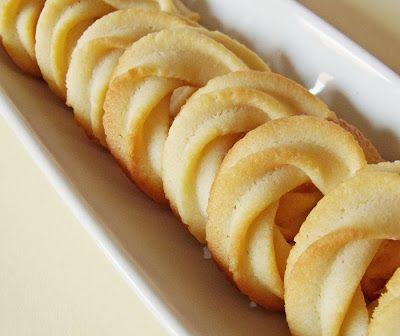 Citromhab: Dán vajas keksz