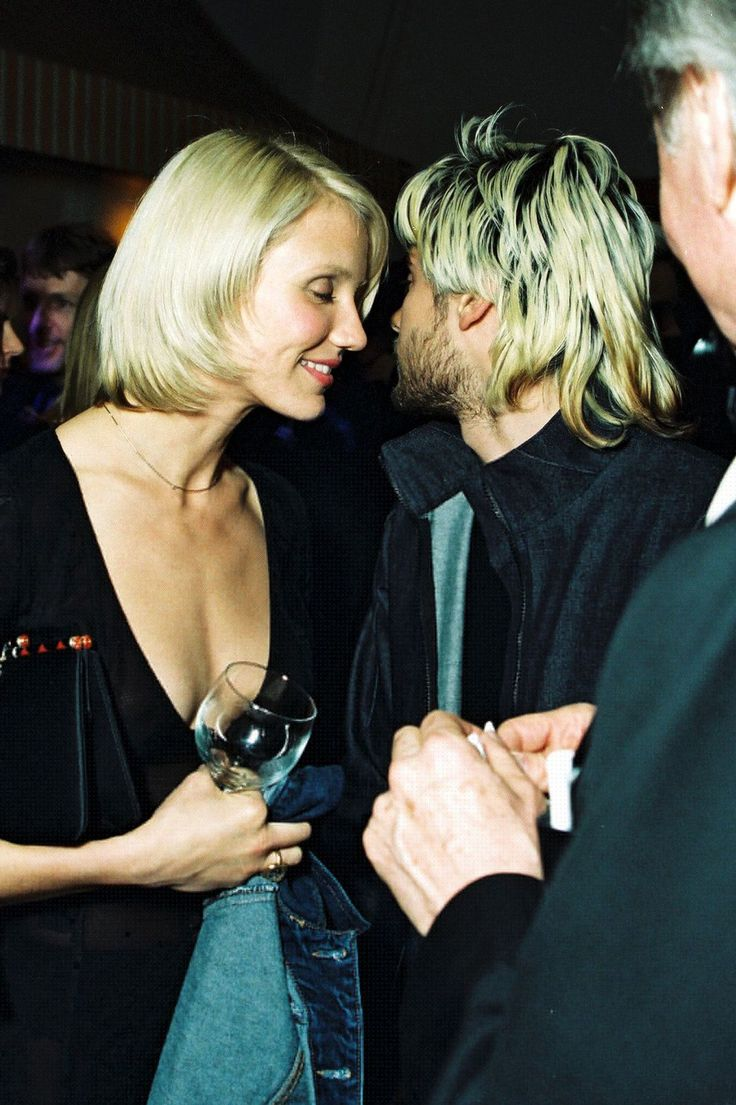 24 Famous Couples Time Forgot (But We Never Will)     Cameron Diaz & Jared Leto