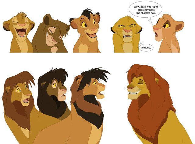 Lion King Fan Art Archive | ... /funniest Lion King fan-art you ever saw — My Lion King Forum