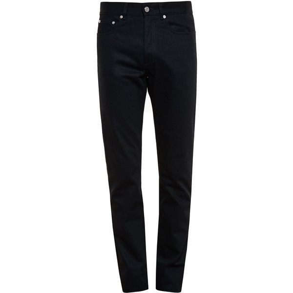GIVENCHY Three Star Jeans (725 CAD) ❤ liked on Polyvore featuring mens, men's clothing and men's jeans