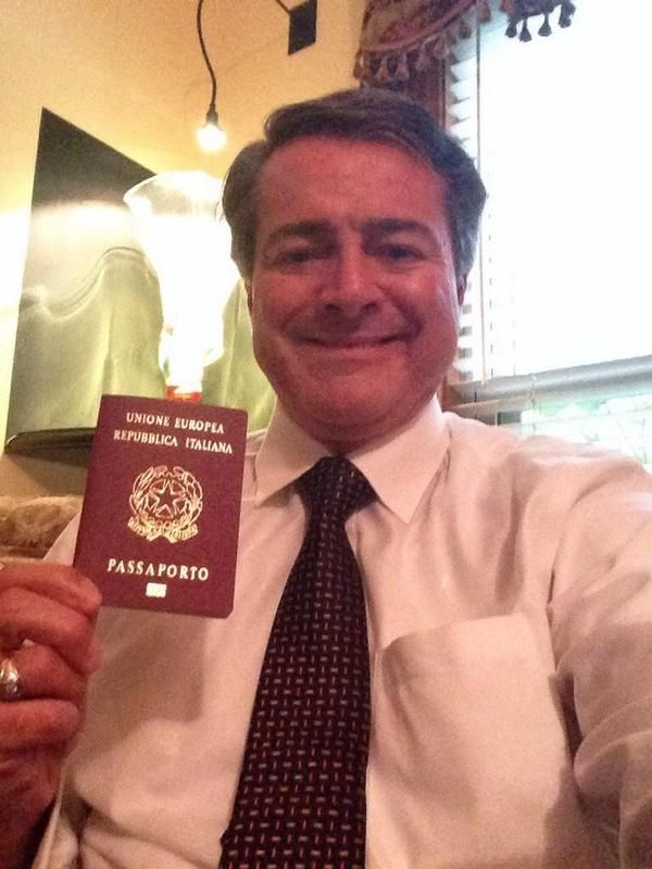 @italymondo Auguri. Appreciate all your help Peter. Now have my Passaporto. Next up your help getting my wife in club     /////      @italymondo Received my Passaporto in Miami. In and out in 30 min. Mille Grazie to Peter Farina and team.