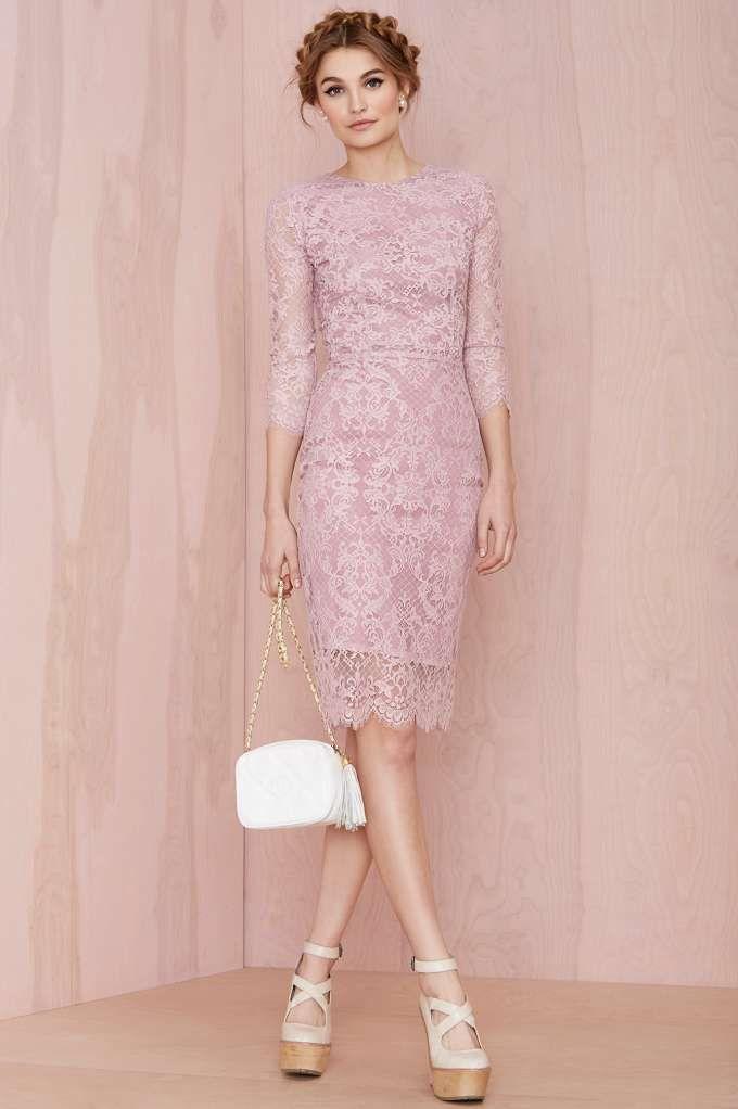 For Love and Lemons Pot Pourri Lace Dress - Going Out | Body-Con | Midi + Maxi | For Love and Lemons | Lace Dresses