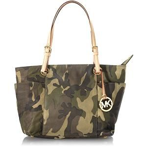 Michael Kors Camo zip tote...the country chic in me needs this. Needs, not want.