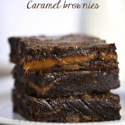 Chocolate fudge caramel brownies I Heart Nap Time | I Heart Nap Time - Easy recipes, DIY crafts, Homemaking