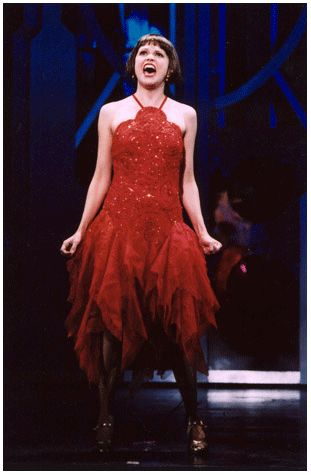 Sutton Foster. I haven't seen/heard her in much yet (I need to brush up on my Broadway...), but she is CRAZY talented. Amazing singer, actress, dancer...you name it.