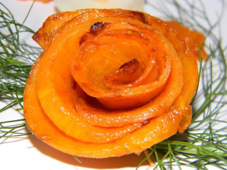 rose di zucca, fiori, barchetta e mestolo di finocchio!