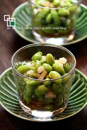 ☆旨っ☆枝豆と玉ねぎの生姜マリネ|レシピブログ