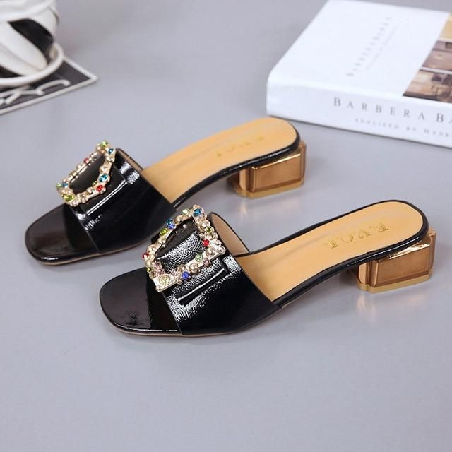 PHYANIC Fashion Designer Shoes Women Luxury Crysta…