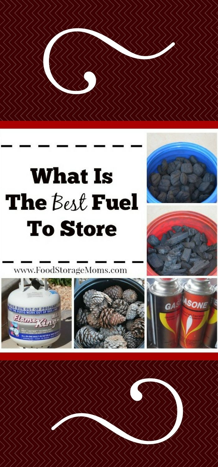 What Is The Best Emergency Fuel To Store-