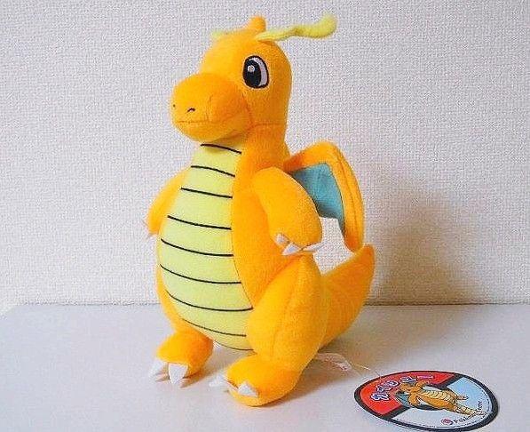 "Pokemon Plush Toy Dragonite 9"" Cute Collectible Soft Pikachu Charizard Stuffed Animal Doll Peluche Pokemon For Children's Gift"