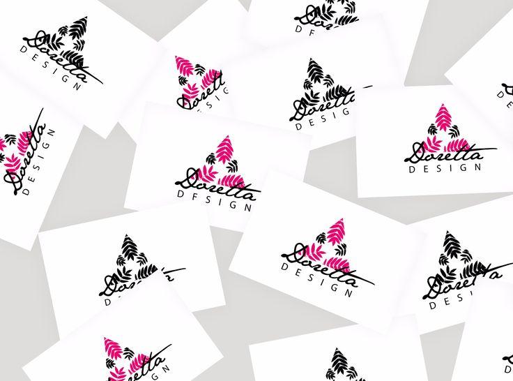 Projektek :: dorettadesign  Logo design for my business card