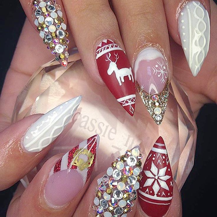 369 best Nails: Holiday & Themed images on Pinterest ...