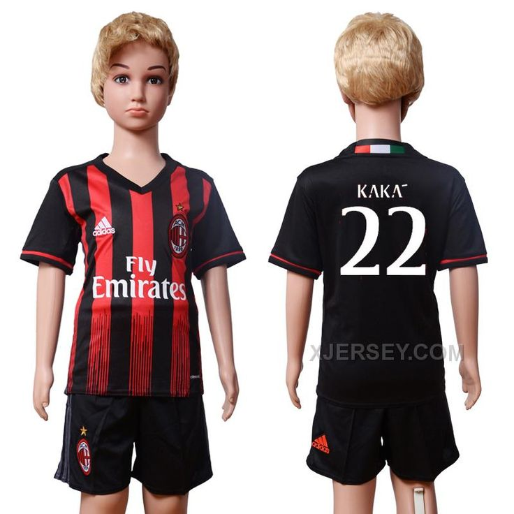 http://www.xjersey.com/201617-ac-milan-22-kaka-home-youth-soccer-jersey.html 2016-17 AC MILAN 22 KAKA HOME YOUTH SOCCER JERSEY Only $35.00 , Free Shipping!