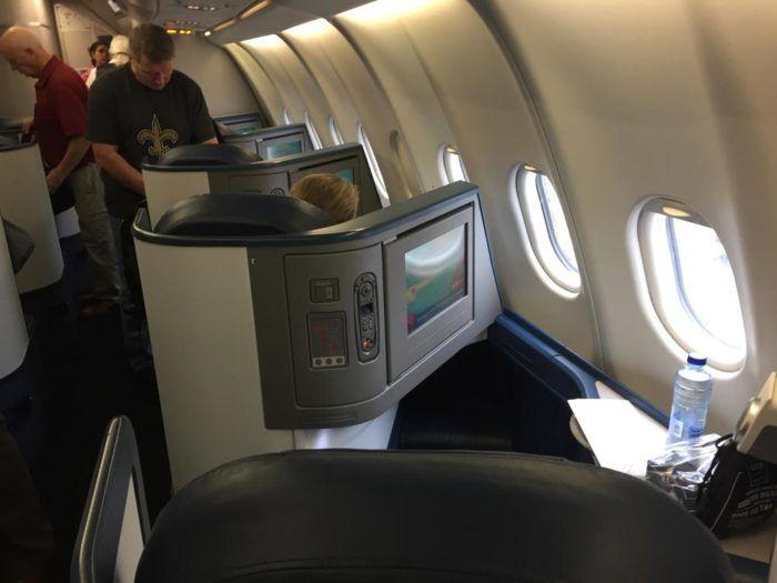 Delta Air Lines Airbus A330 300 Business Class Elite Delta One Cabin Interior Photos Delta Airlines Airbus Delta