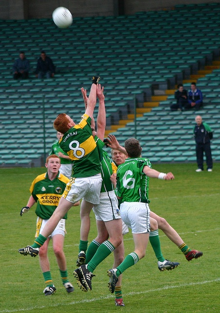 A Gaelic Football or Hurling Match (Ireland). 'It depends on whether you're in a football or hurling stronghold (some, like County Cork, are both) but attending a match of the county's chosen sport is not just a unique Irish experience but also a key to unlocking local passions and understanding one of the cultural  pillars of Ireland.' http://www.lonelyplanet.com/ireland