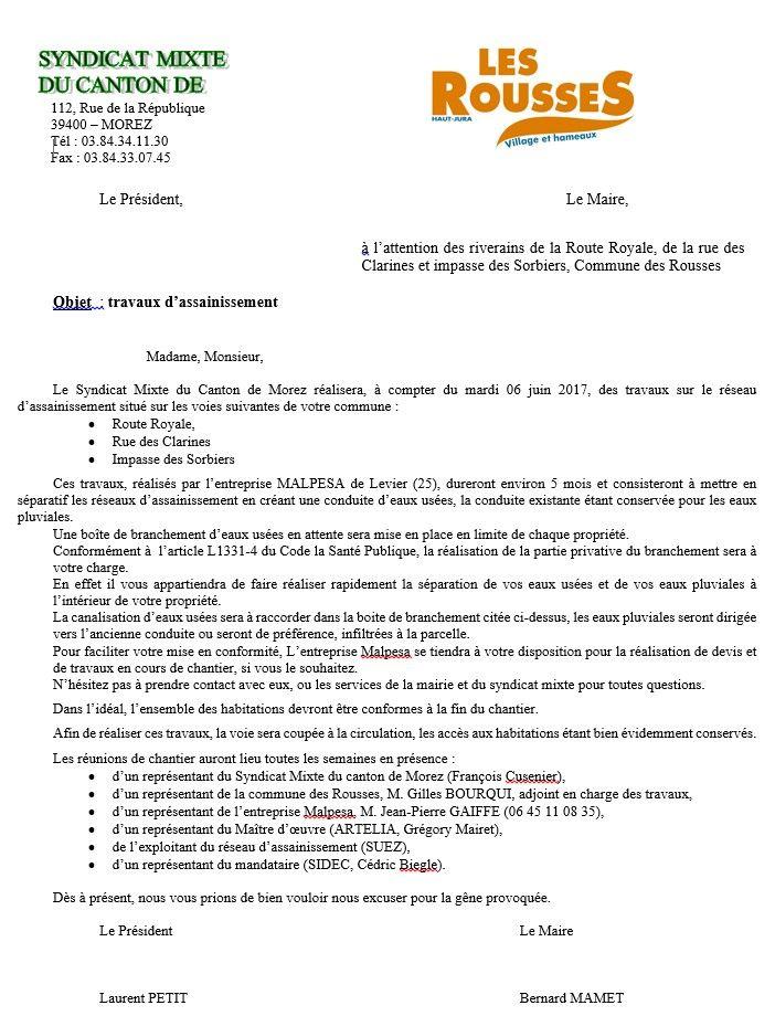 télécharger le plan technique : http://www.mairielesrousses.fr/fileadmin/user_upload/Actualites/LES_ROUSSES_Travaux_d_assainissement_tranche_2017_Plan_d_EXE.pdf