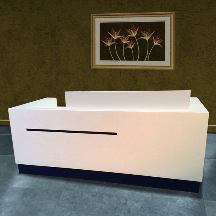 factory wholesale price hot sale modern white acrylic portable reception desk buy portable reception deskused reception desks salemodern salon reception - Reception Desks