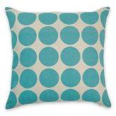 Spot aqua cushion