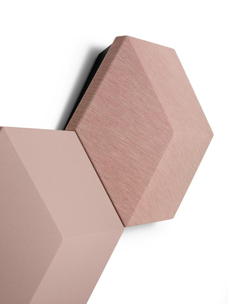 Wifi Speaker: Hexagon shaped tiles with a material of lightweight composite casing Fabric covers!