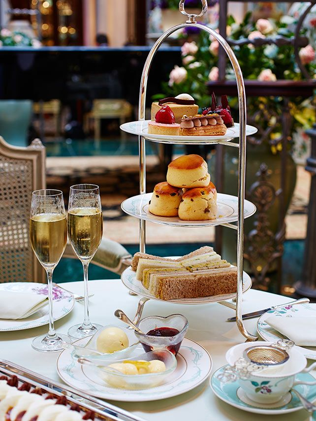 The British custom of afternoon tea dates back to 1840 and was invented to satisfy hunger between lunch and dinner. Though there are many variations, afternoon tea usually consists of small finger sandwiches, scones with clotted cream and jam, and cakes. Check out some places to enjoy the classic afternoon tea: http://ba.uk/GruSf7