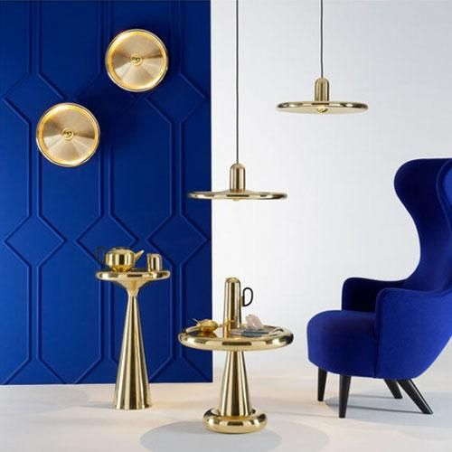 Suspension et applique Spun - Tom Dixon