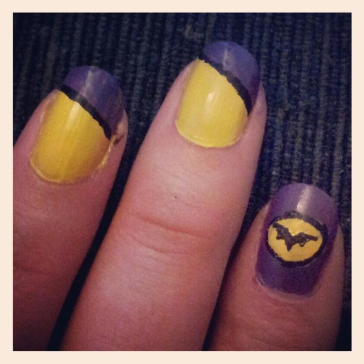 #Batman #nailart