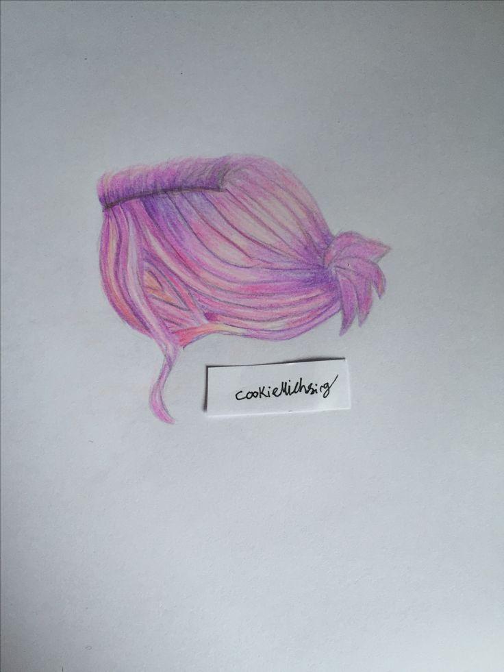 #purplehair #purple #hair #hairstyle #creative #pencil #drawing #art #artsy #artist #artwork