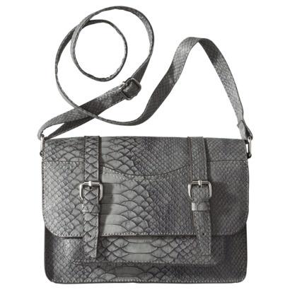 Mossimo Supply Co. Lady Satchel Handbag - Smoke