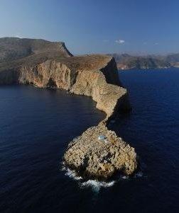 Stavros Cape near Agia Pelagia, Crete Island