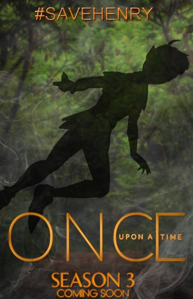 Peter Pan's shadow season 3 fan made poster. Once Upon a ...