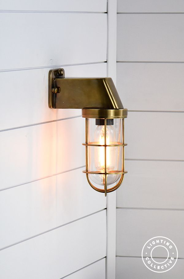 Industrial Caged Wall Light Wall Lights Exterior Wall Light Outdoor Wall Lighting