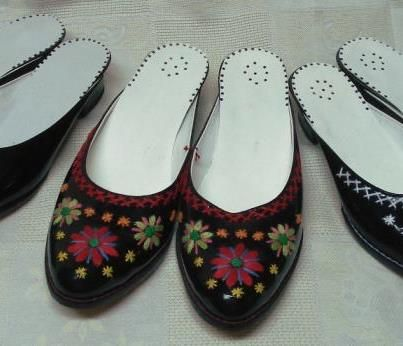 Traditional Female Footwear (Socas or Soquinhas) From Northern Portugal, Gallaecia