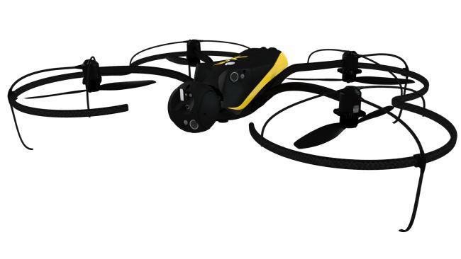 Parrot presentó en el #CES2015 el eXom, un drone que cuenta con sensores autónomos, lo que elimina la necesidad de tener un GPS.