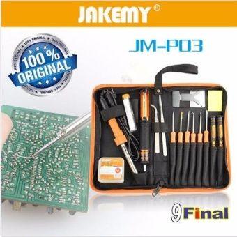 รีวิว สินค้า JAKEMY JM-P03 23in1 primary DIY welding tool set ชุดเครื่องมือซ่อม งานอิเลคโทรนิคส์ 23 ชิ้น พร้อมกระเป๋าเก็บ พกพา ★ เช็คราคา JAKEMY JM-P03 23in1 primary DIY welding tool set ชุดเครื่องมือซ่อม งานอิเลคโทรนิคส์ 23 ชิ้น พร้อมกระ ช้อปปิ้งแอพ | affiliateJAKEMY JM-P03 23in1 primary DIY welding tool set ชุดเครื่องมือซ่อม งานอิเลคโทรนิคส์ 23 ชิ้น พร้อมกระเป๋าเก็บ พกพา  ข้อมูลเพิ่มเติม : http://online.thprice.us/Sn0BW    คุณกำลังต้องการ JAKEMY JM-P03 23in1 primary DIY welding tool set…