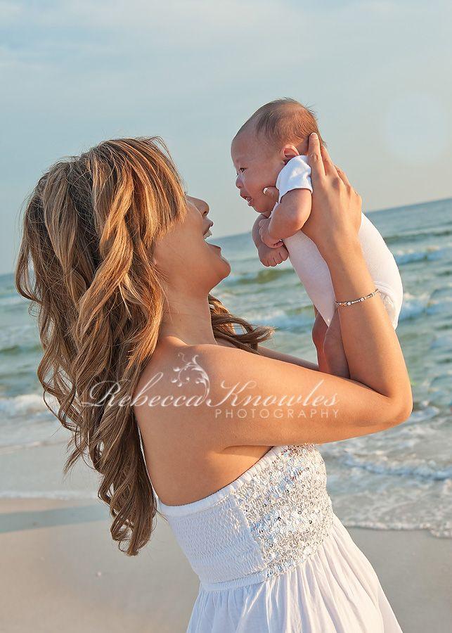 Panama City beach baby photography newborn studio