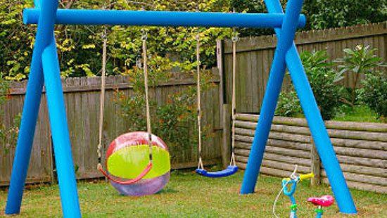 how to make a kids swing. Black Bedroom Furniture Sets. Home Design Ideas
