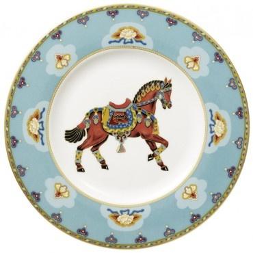 Samarkand Aquamarin Salad plate 22cm Villeroy & Boch