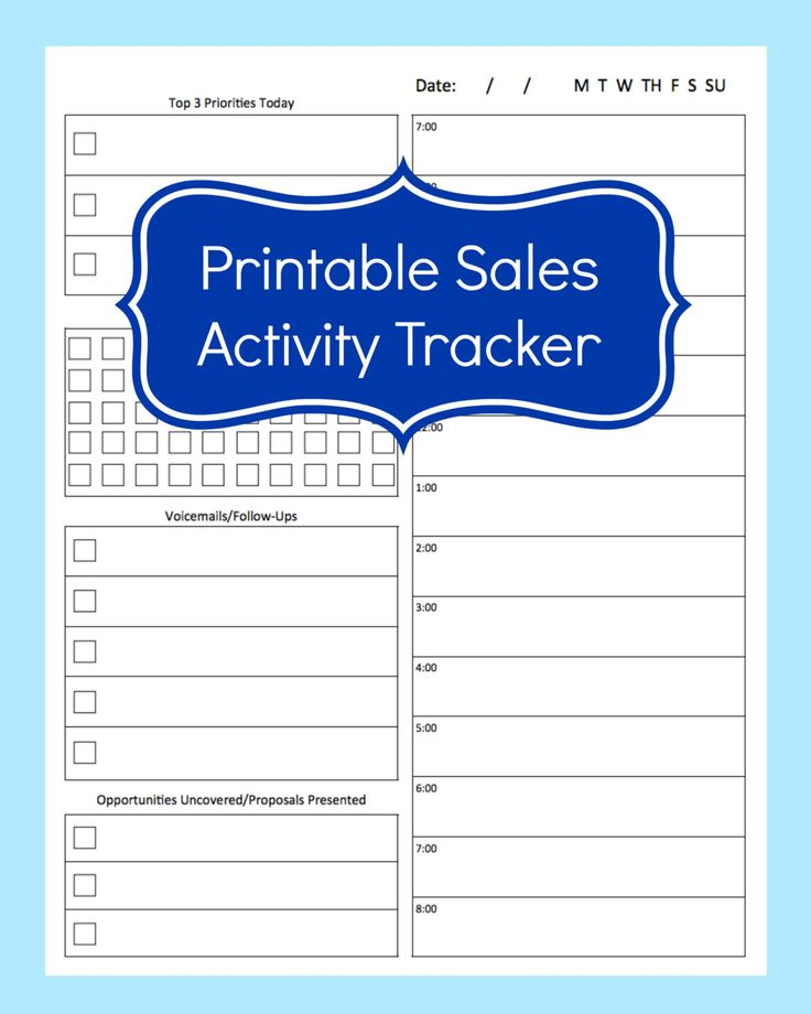 65 best Sales Planner images on Pinterest Discbound planner - sales sheet template