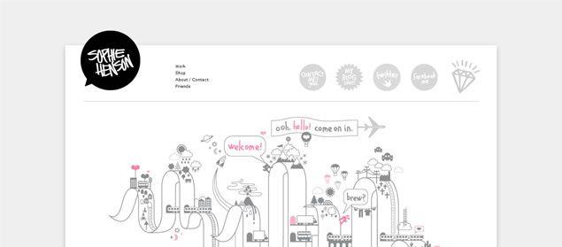Sophie Henson: Siteinspir With Website, Sophie Henson, Siteinspire Com Website, Web Design Inspiration, Designinspir View, Website Inspiration, Design Web, Siteinspir Webdesign, Web Design Designinspir