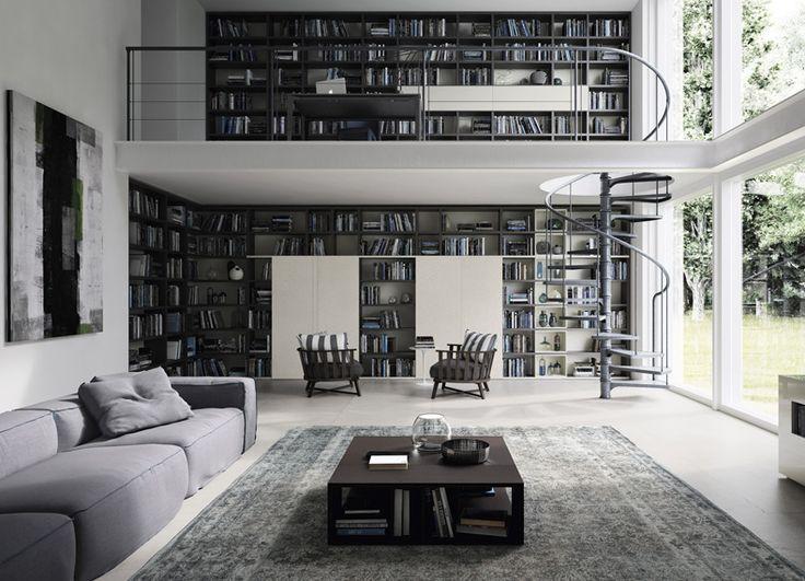 Dom bez książki jest jak ciało bez ducha #home #design #internoitaliano #alf