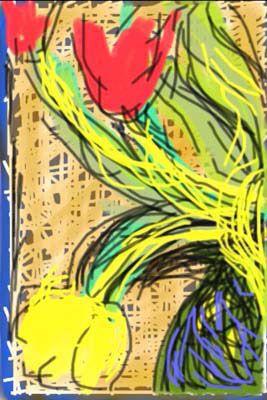 iPhone Drawing, 2009 - by David Hockney