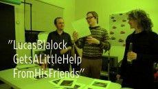 Lucas Blalock Gets A Little Help From His Friends