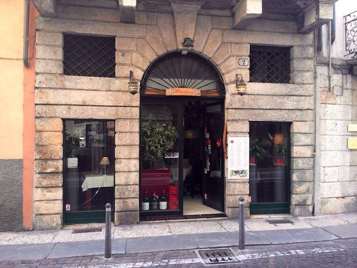 L'ingresso del #ristorante da Via Ponte Nuovo #Verona