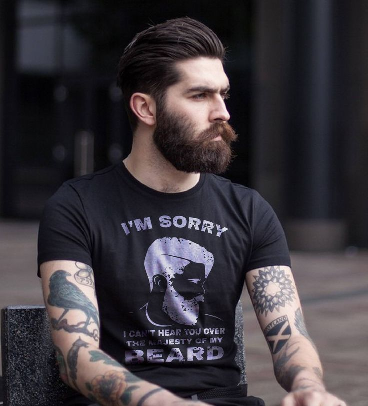 #beard #beardlife #beardgang #beardbad #beartattoo #beardking #beardmen #beardtshirt if tou like this t shirt visit this link https://teespring.com/i-cant-hear-you-over-my-beard#pid=389&cid=100029&sid=front
