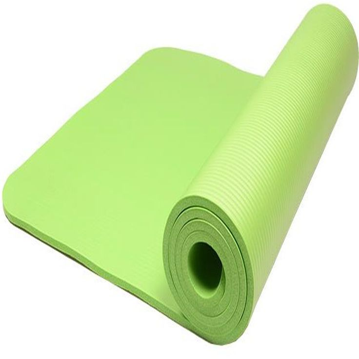 Коврик для йоги NBR толстые больше анти-слип гимнастика коврики йога удлиняется и расширились конфеты - цвет спортивные Colchonete фитнес-мать йога