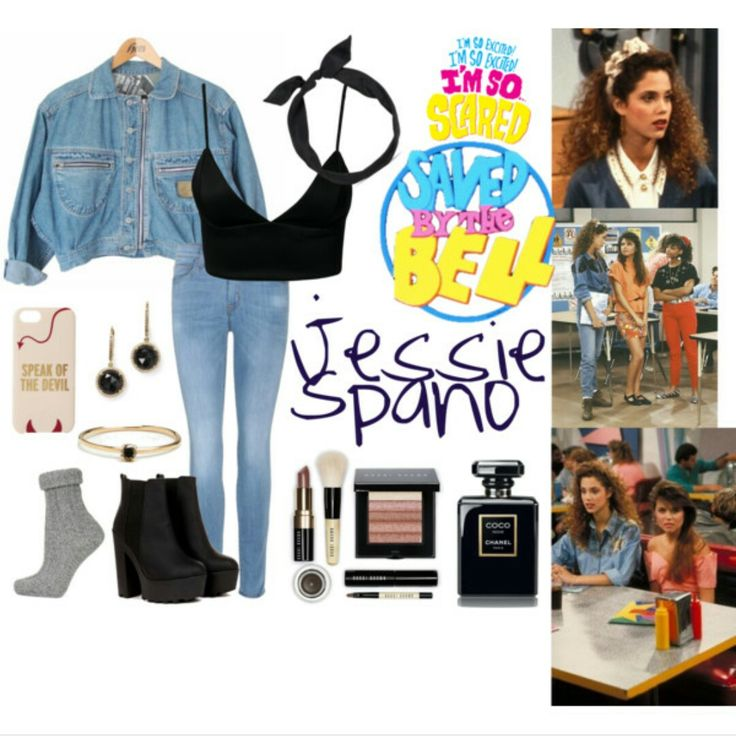 Jessie Spano from Saved by the bell inspired outfit for school