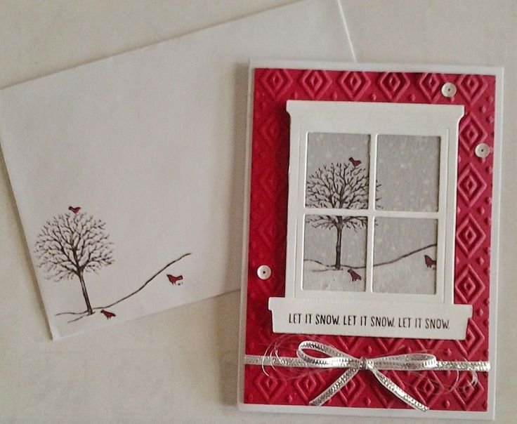 Another card made with the Happy Scenes Stamp Set and the matching Hearth and Home ThinlitsDies, See how it was made on my blog.
