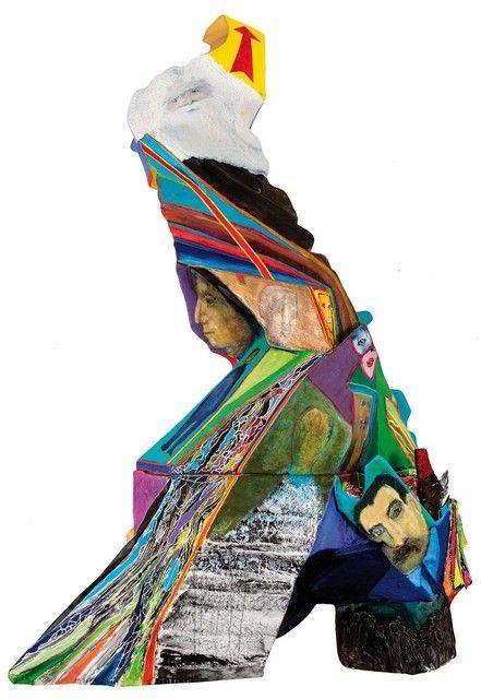 Luis Felipe Noe, 'Proyecto de monumento a la humanidad,' 2015, Galería Rubbers Internacional