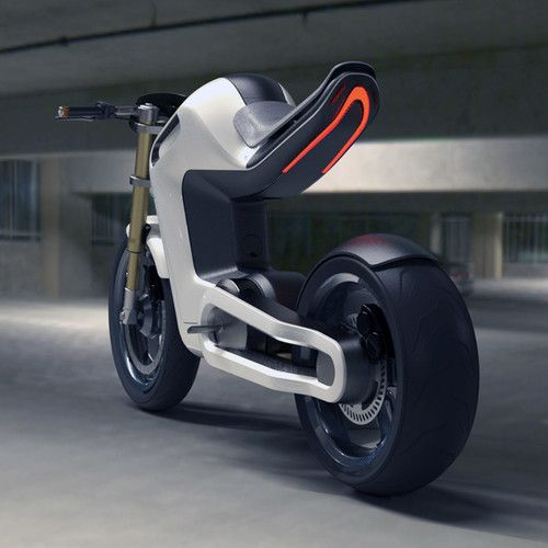 BOLT motorbike electric motorcycle  yankodesign.com