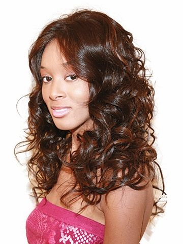 Lavender Synthetic Lace Front Wig by Beverly Johnson